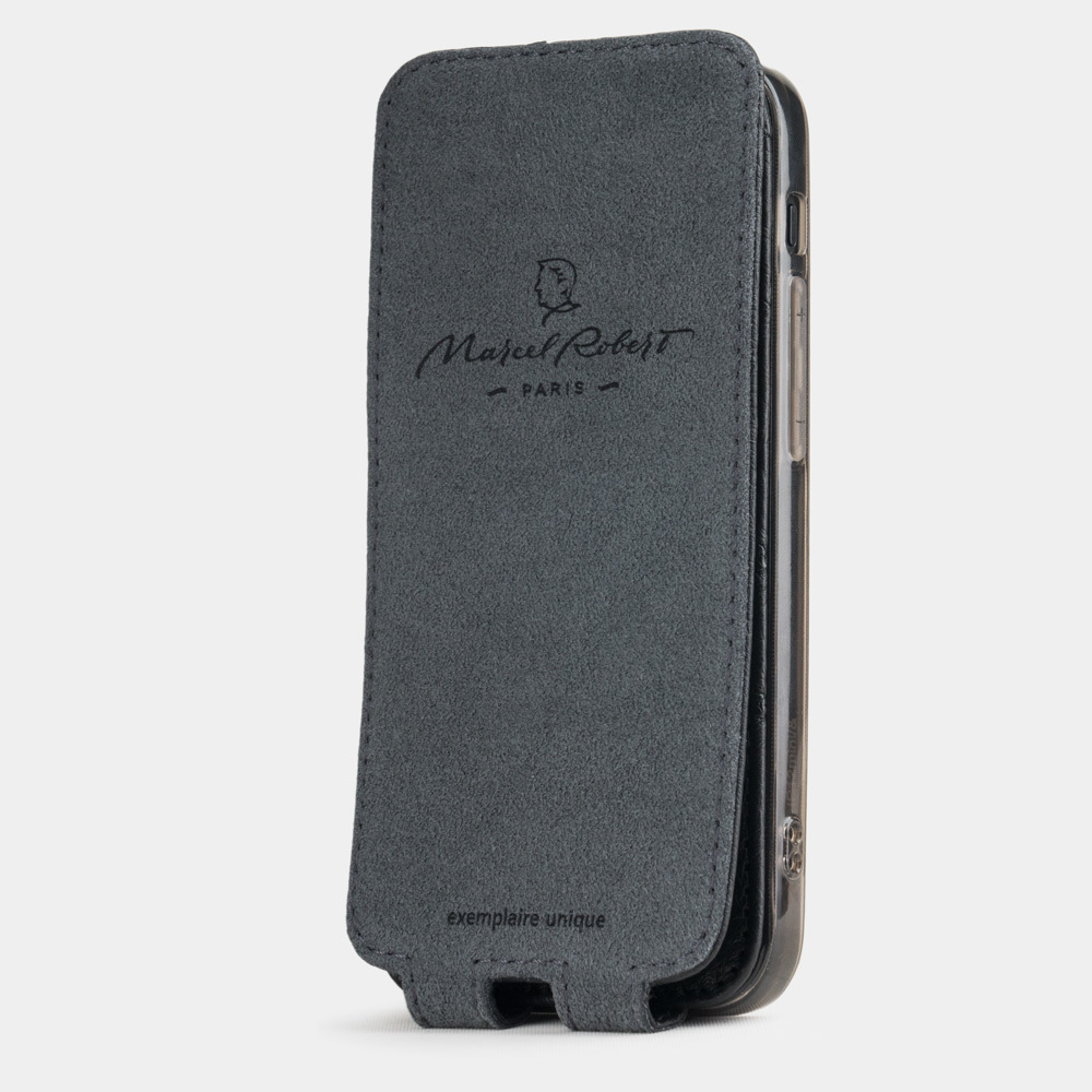 case iphone 12 mini - ostrich black