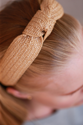 Ободок плетенный