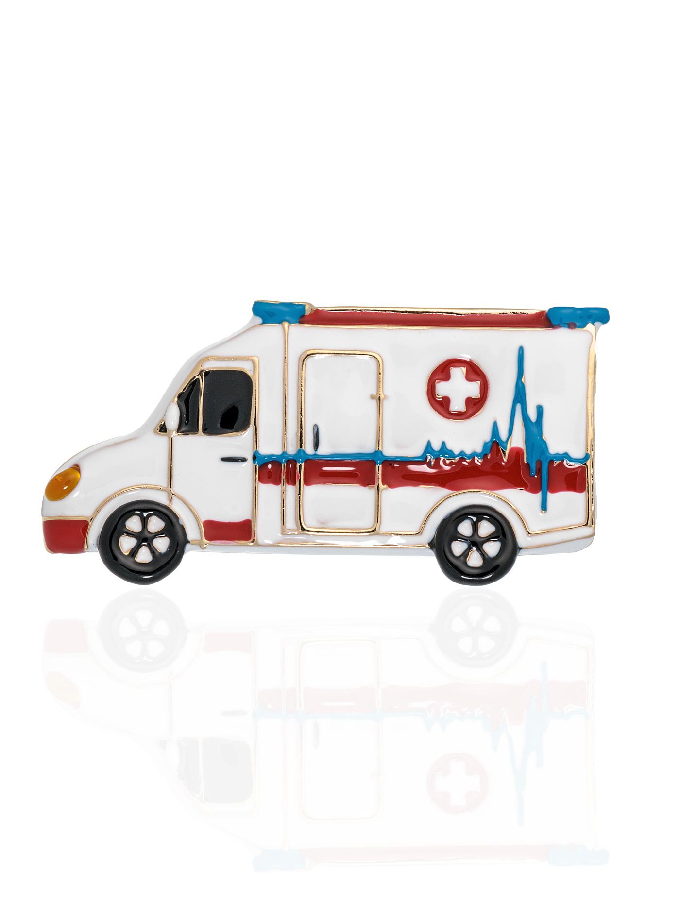 Брошь Машина скорой помощи