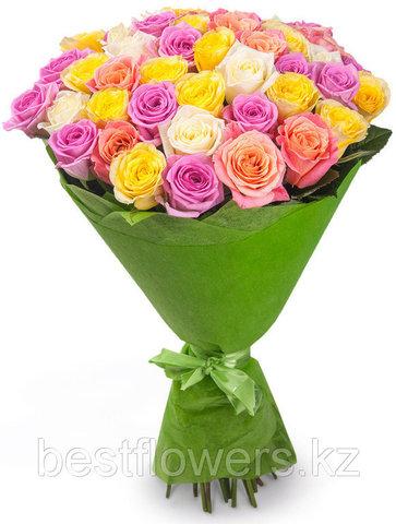 Букет из 51 розы 4 (60 см)
