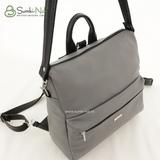 Сумка Саломея 553 английский серый + черный (рюкзак)