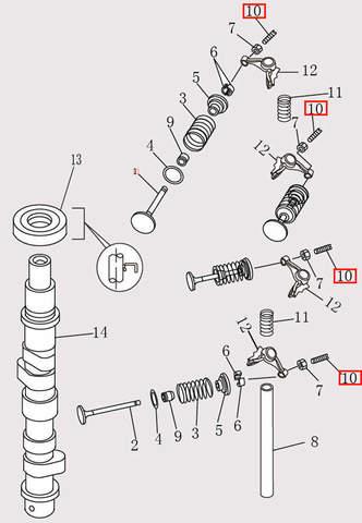 Винт для лодочного мотора F9.8 Sea-PRO (4-10)