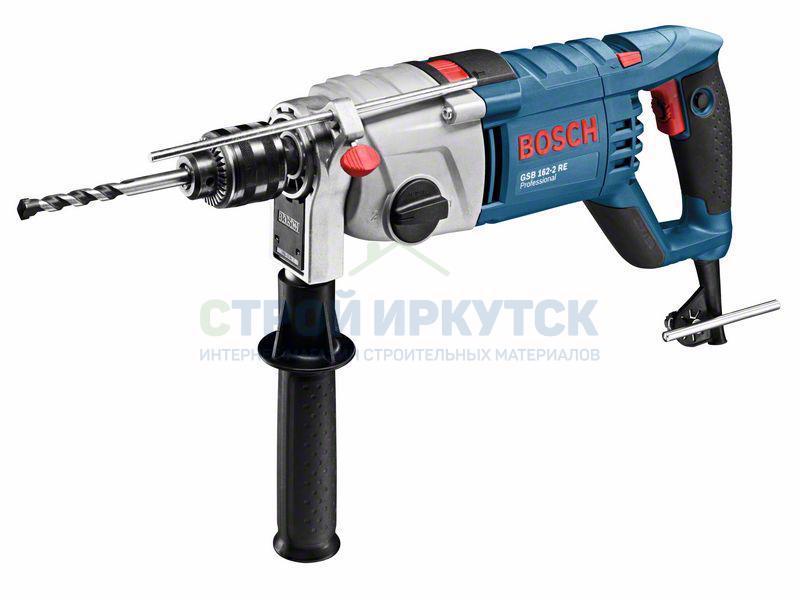 Дрели и миксеры Ударная дрель Bosch GSB 162-2 RE (060118B000) 235b2a7d4ccf666e23a270bb368c5a73