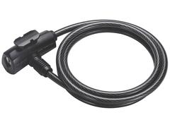 Замок велосипедный BBB QuickSafe 8mm x 1500mm coil cable