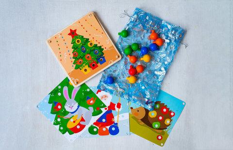 Деревянная Мозаика С Новым Годом Raduga Kids, 3+