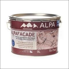 Краска для фасадов ALPA Facade матовая (Белый)