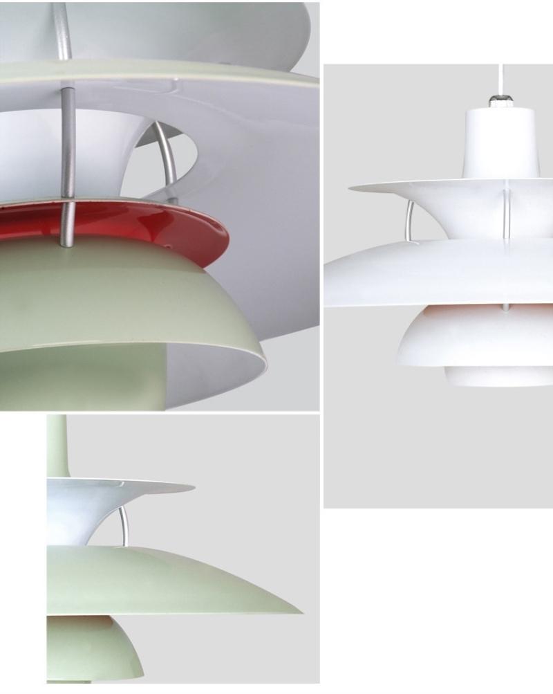 Подвесной светильник PH 5 by Louis Poulse (розовый)