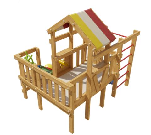 Детская игровая кровать-чердак Сонник