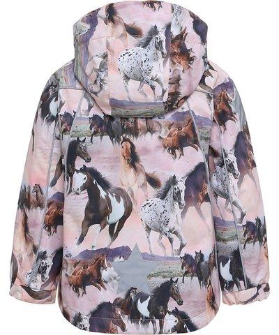 Molo Hopla куртка весна для девочки  Wild Horse