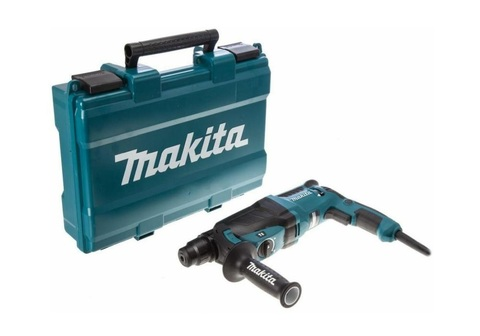 Перфоратор SDS-plus MAKITA HR-2630 (800 Вт, 2,9Дж, 2,8кг, 3 реж,кейс) (HR2630)