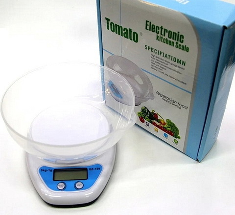 Весы кухонные QZ-129, 5кг. (1г)