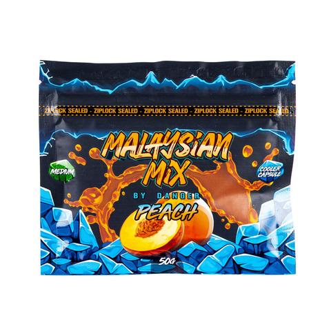 Кальянная Смесь Malaysian Mix Peach (Персик) 50 г