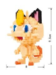 Конструктор Wisehawk & LNO Покемон Мяут 321 деталь NO. 177 Meowth Pokemon Gift Series