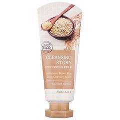 Пенка для умывания Welcos Cleansing Story Deep Cleansing Foam Germinated Brown Rice с бурым рисом 120 гр