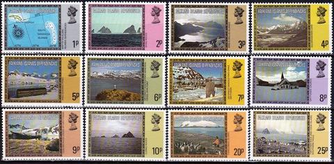 Falkland Islands Dependencies 1980 №78-92 I+III **MNH