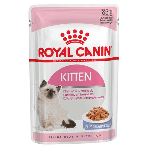 Royal Canin Kitten пауч для котят от 4 до 12 мес кусочки в желе мясо 85 г