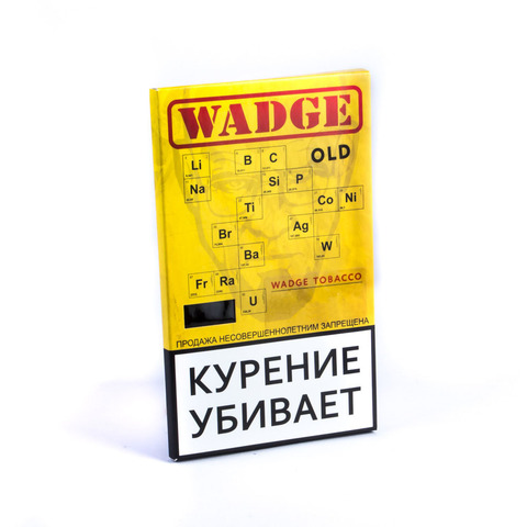 Табак WADGE OLD 100gr Pear
