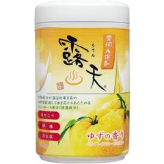 Соль для ванны Fuso Kagaku с бодрящим эффектом и ароматом юдзу 700 гр