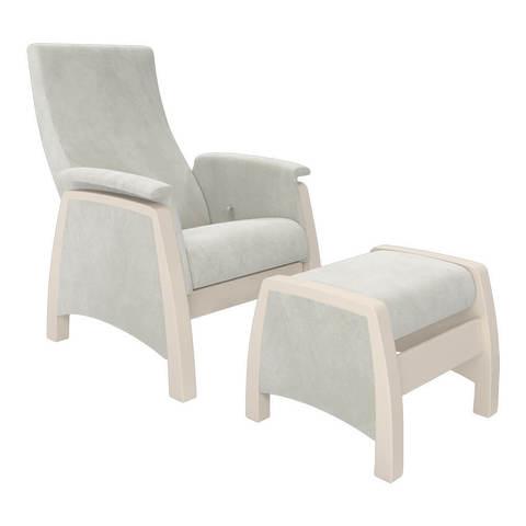 Кресло глайдер Модель 101 с пуфиком