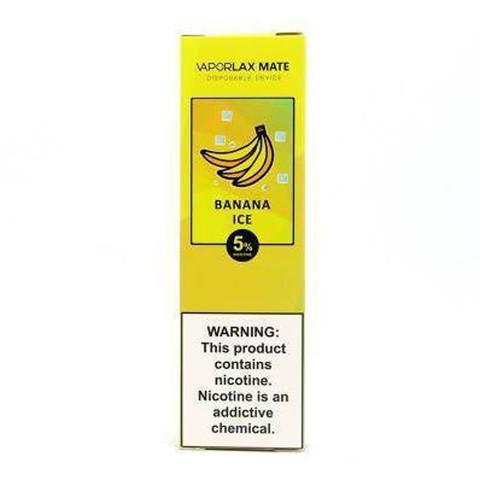 Vaporlax Mate (800 затяжек) Banana Ice