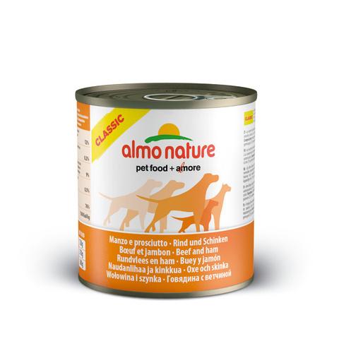 Консервы (банка) Almo Nature Classic Beef&Ham