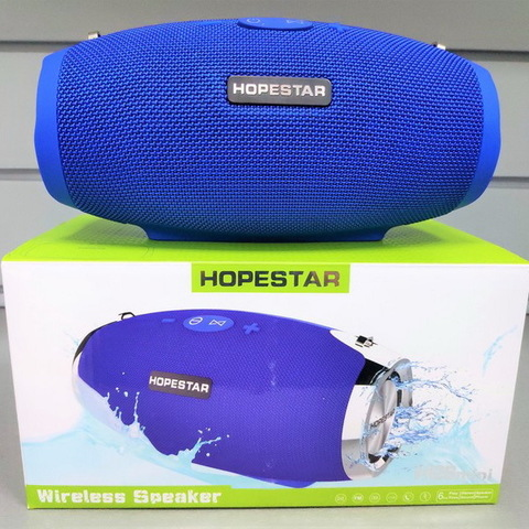 Колонка Bluetooth Hopestar H26 mini Strong Power (цвет ассорти)