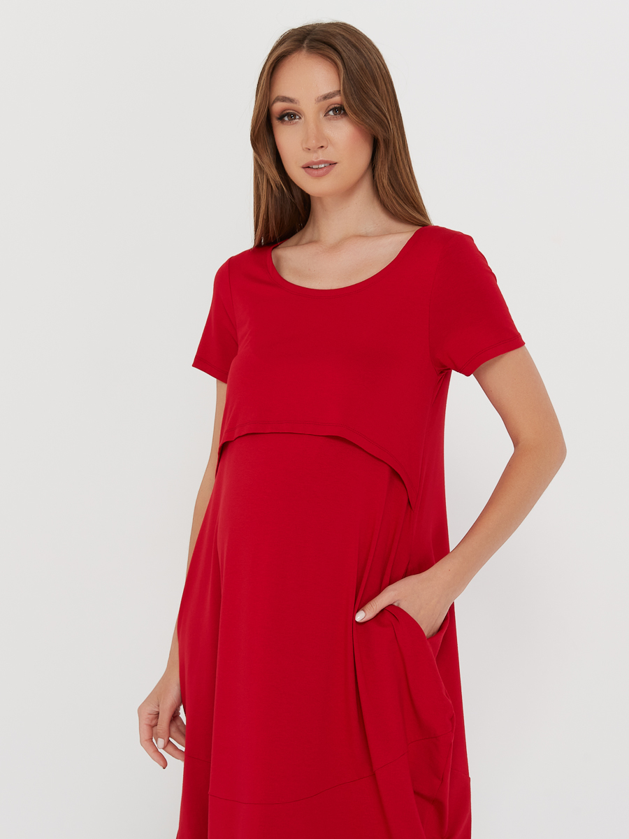 Платье для будущих и кормящих мам - Фото 4