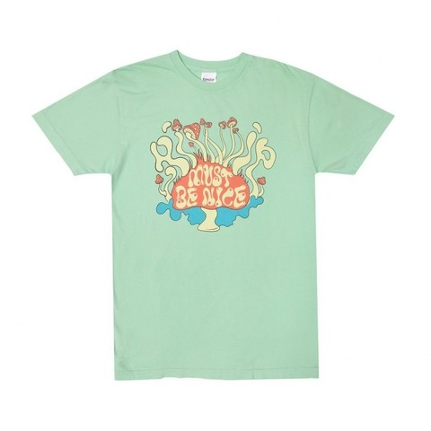 Футболка Rip N Dip Delusion Tee Mint Mineral Wash