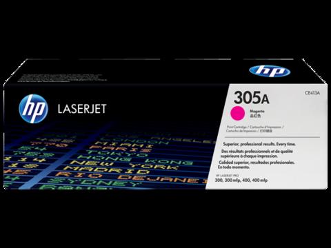 Картридж лазерный цветной original 305A CE413A пурпурный (magenta), до 2600 стр. - купить в компании MAKtorg
