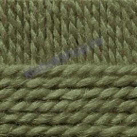 Пряжа Осенняя (Пехорка) цвет 448 светло-оливковый