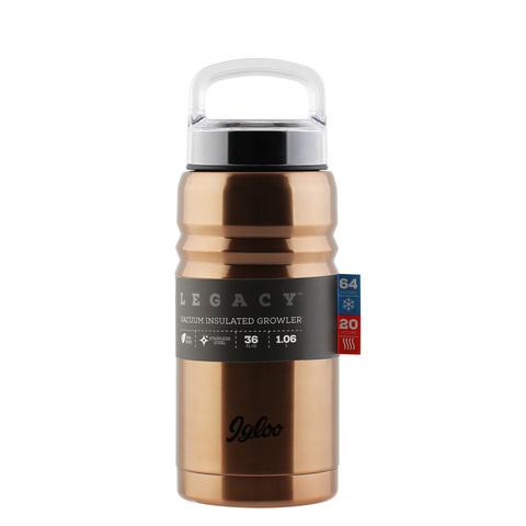 Термос Igloo Legacy 36 (1 литр), коричневый