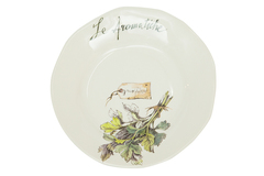 "HERBS Salad plate ( mod. SP231 ) | Тарелка для салата ""ТРАВЫ"""