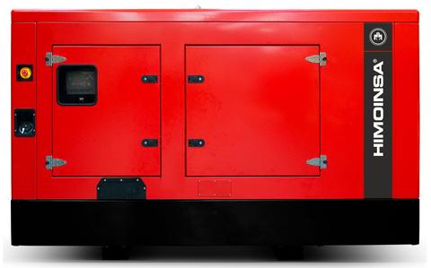 Дизельный генератор Himoinsa HIW-100 T5 в кожухе