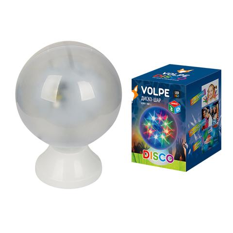 ULI-Q307 4,5W/RGB WHITE ДИСКО ШАР 3D Светодиодный светильник. Свечение 3D звёзды. 220В. ТМ Volpe.