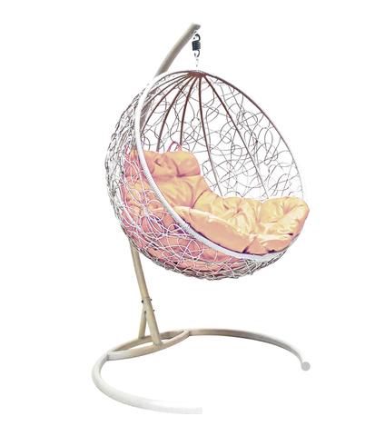 Кресло подвесное Milagro white/beige