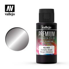 Premium color 60ml. 053-metallic black