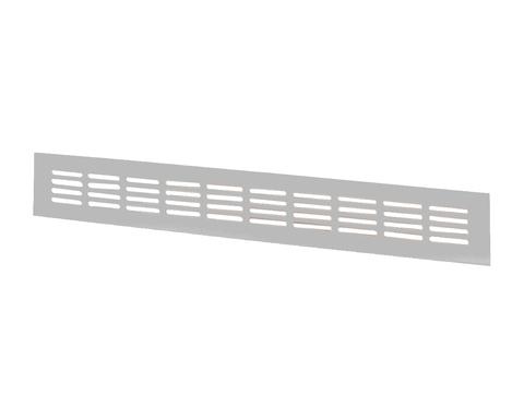Решетка Шамрай МВМС 400х100 мм Серебро