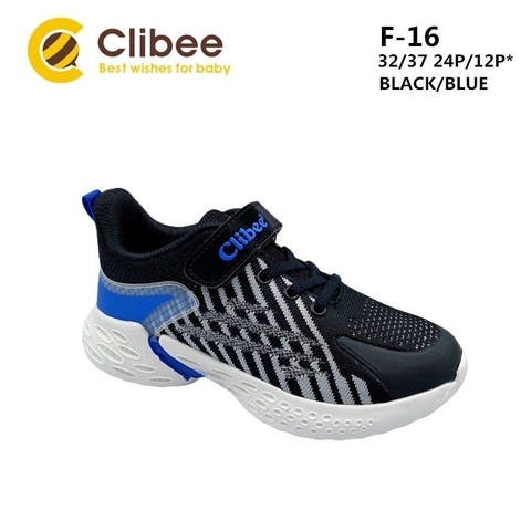 Clibee F-16 Black/Blue 32-37