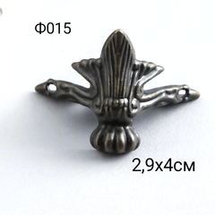 Ф015 Уголок (ножка) для шкатулки металл