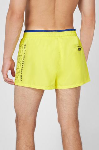 Мужские желтые плавательные шорты Diesel