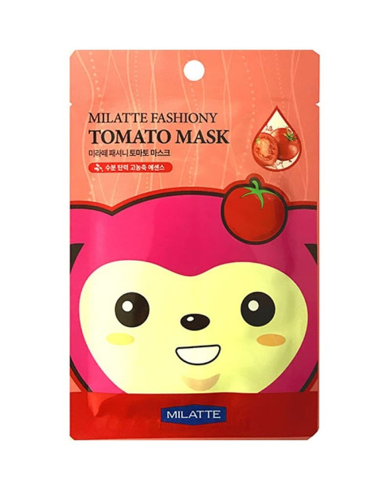 Тканевые Маска тканевая для лица томатная MILATTE  FASHIONY TOMATO MASK SHEET 21 гр c2d8bfb554953a31ece854216a41e4cf.jpg