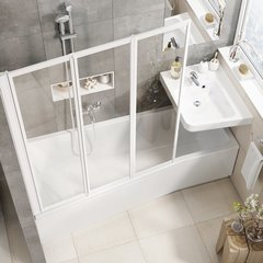 Ванна асимметричная 150х75 см правая Ravak Be Happy II R C991000000 фото