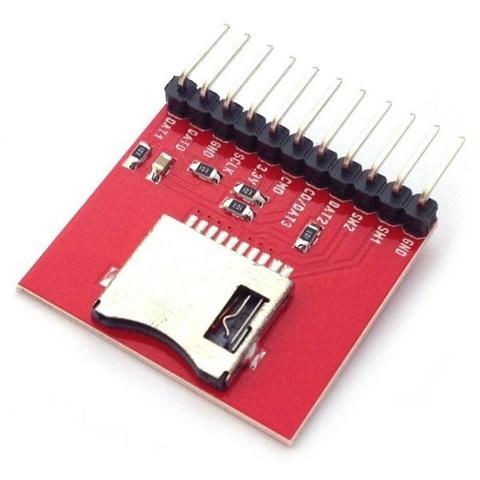 Плата MicroSD Card Breakout board