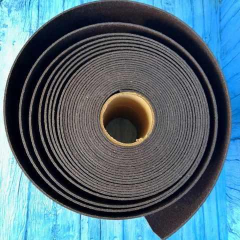 Лента бордюрная высота 20 см, толщина 2 мм, в рулоне 10 метров Коричневый
