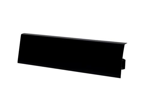 Черный 80 плинтус (2500*80мм) Salag Польша