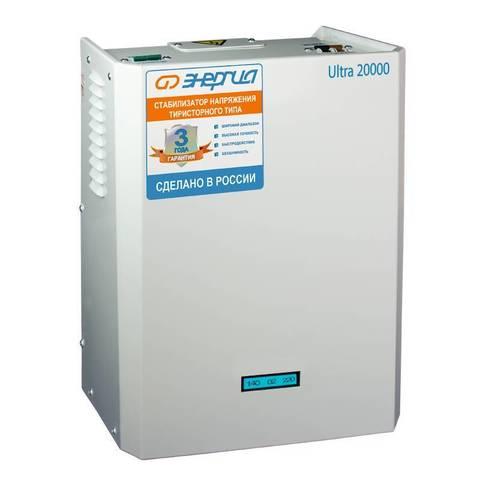 Стабилизатор Энергия Ultra 20000 ВА