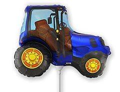 F Мини-фигура Трактор (синий), 14