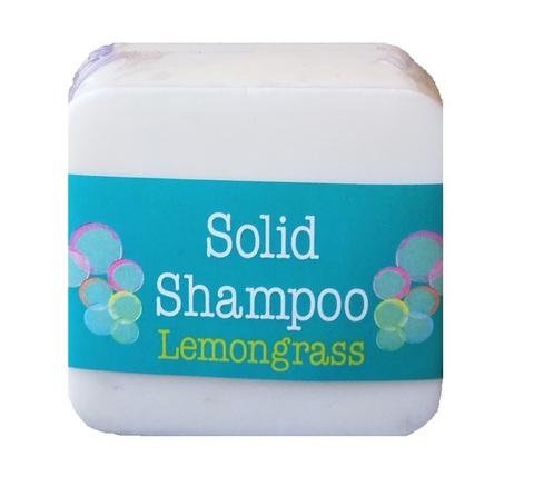Твердый шампунь для волос с ароматом лимонника Elaia 125 гр