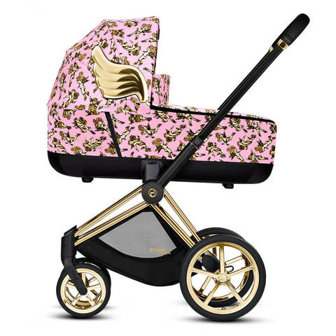 Детская коляска Cybex Priam III 2 в 1 By Jeremy Scott Cherubs Pink