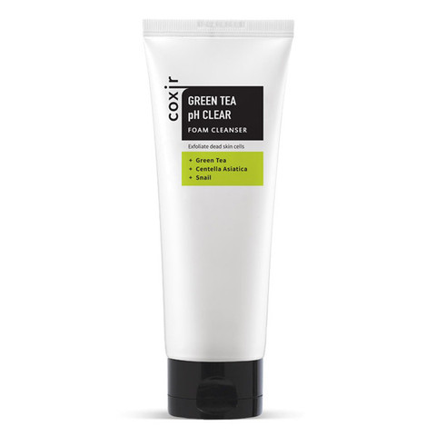 COXIR Green Tea pH Clear Foam Cleanser